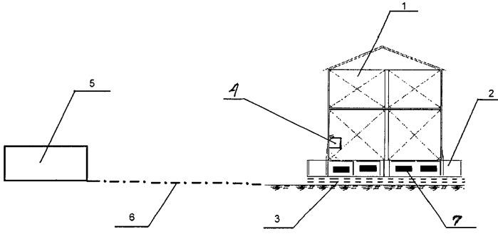 Комплексная система сейсмозащиты здания или сооружения