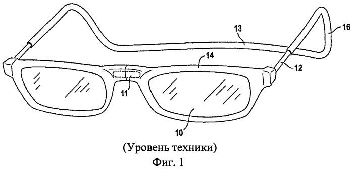 Складные очки с защелкивающейся перемычкой