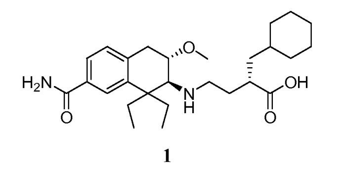 Кристаллические формы соединения 3-карбоксипропил-аминотетралина