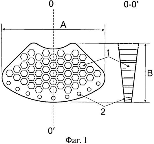 Пластина для пластики посттравматических дефектов и деформаций дна глазницы