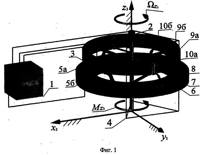 Реверсивный электростатический микродвигатель вращения