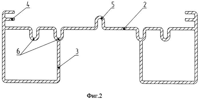 Светодиодный светильник и теплоотводящий профиль как его корпус