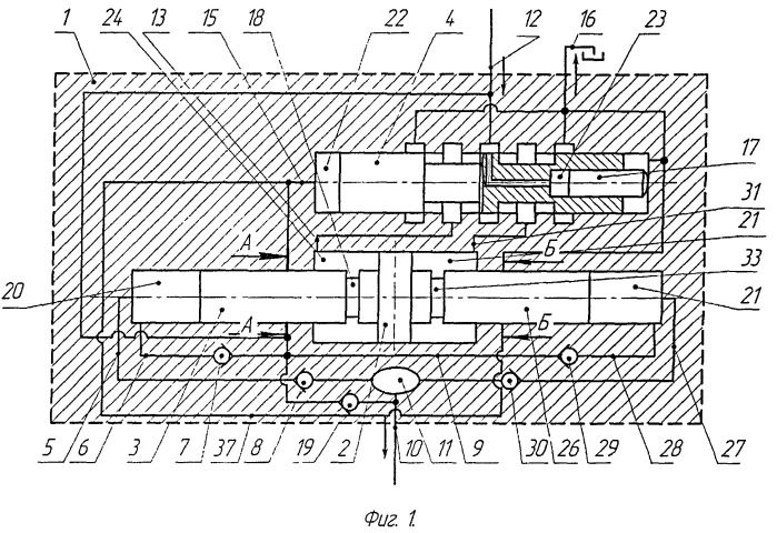 Плунжерно-поршневой гидромультипликатор двойного действия