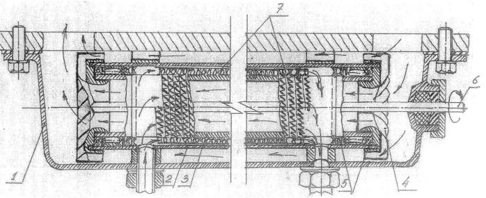 Жидкостно-масляный теплообменник для двигателей внутреннего сгорания транспортных средств