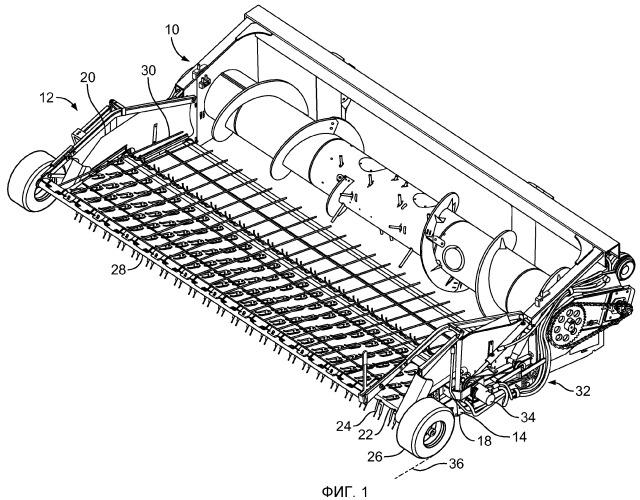 Заменяемые зубцы направляющего узла сельскохозяйственной уборочной машины