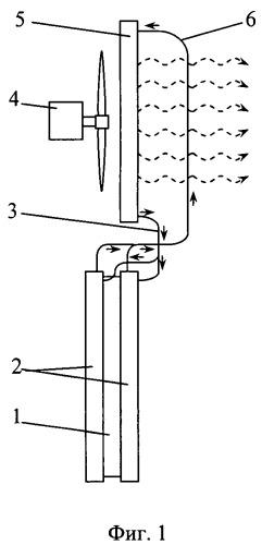 Испарительно-конденсационная система охлаждения токопроводящих элементов (варианты)