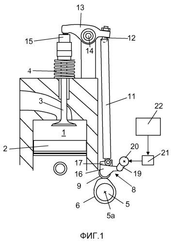 Устройство подъема клапана для двигателя внутреннего сгорания