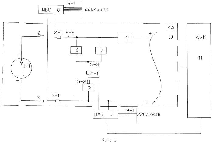 Способ электрических проверок космического аппарата
