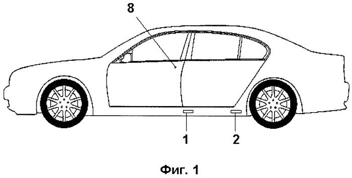 Способ открывания боковой двери автомобиля