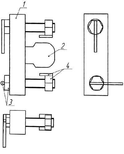 Устройство скрепления (соединения) рельсовых плетей скрепка