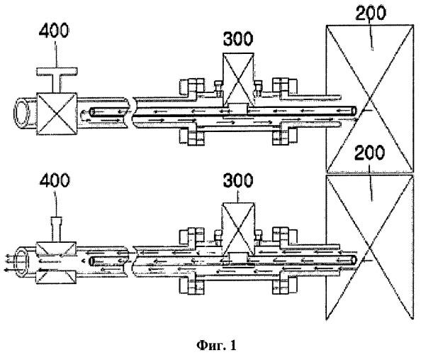 Способ циркуляции воды внутри трубопровода