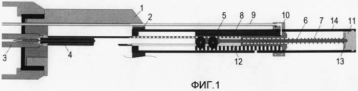 Автоматическое огнестрельное оружие с улучшенной компенсацией работы автоматики