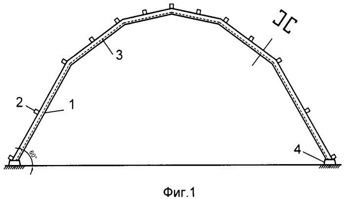 Полигональное рамное покрытие