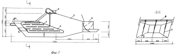 Бункер с наклонными электродами для электроразогрева бетонной смеси