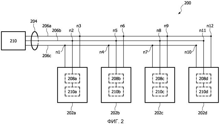 Способы и устройство определения относительных положений светодиодных осветительных блоков