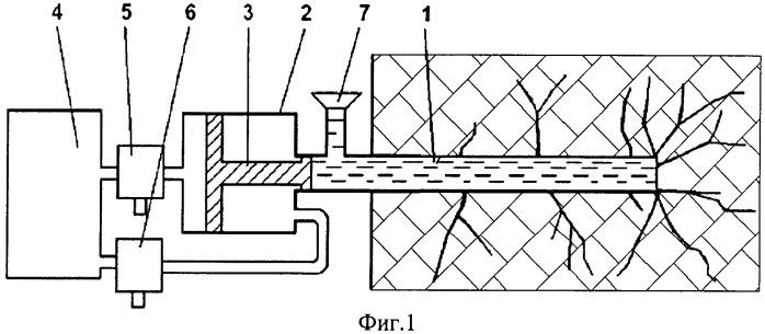 Способ повышения проницаемости угольного пласта через скважины, пробуренные из горных выработок
