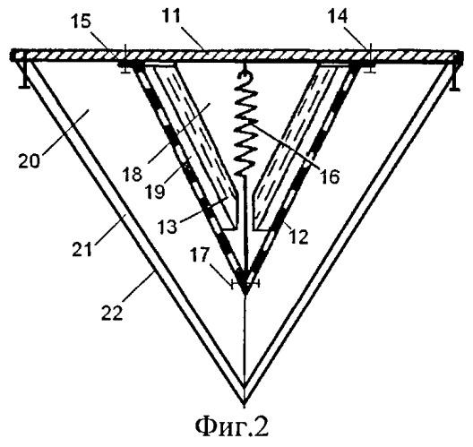 Штучный звукопоглотитель судовой каюты