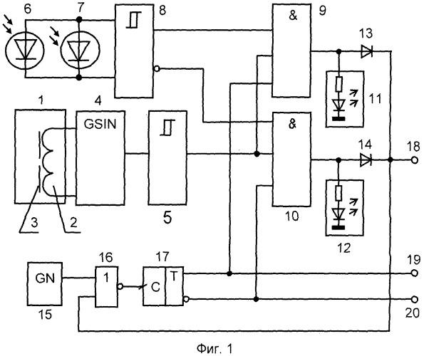 Адаптивный датчик идентификации и контроля положения нагретых металлических и ненагретых металлических изделий