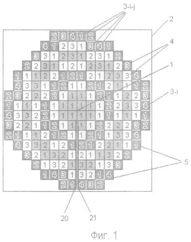Способ размещения и соединения светоизлучающих элементов в гирляндах, размещаемых в монолитных светоизлучающих матрицах