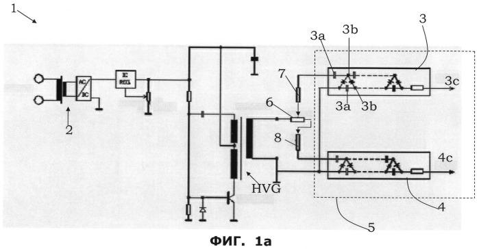 Способ биполярной ионизации воздуха и соответствующая схема для биполярной ионизации воздуха