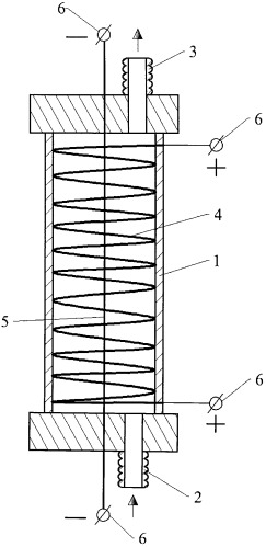 Электролизер для получения раствора гипохлорита натрия