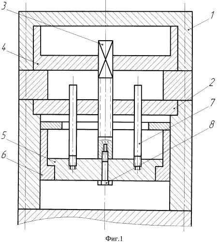 Пресс для штамповки с кручением