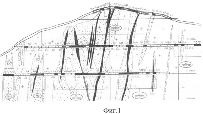Способ комплексного освоения структурно-морфологически сложного месторождения