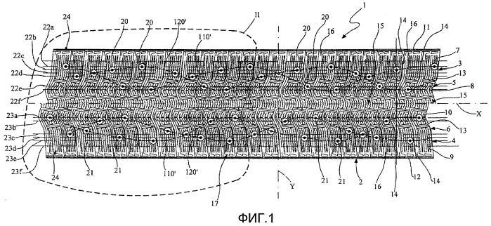 Способ конструирования шипованной шины и шипованная шина, полученная этим способом