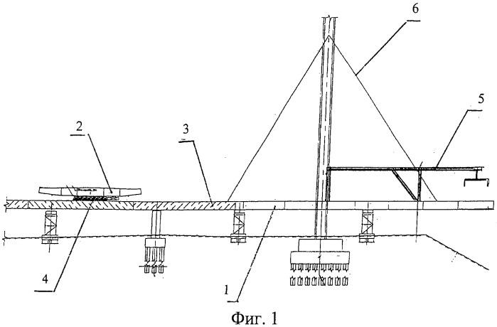 Способ монтажа балки жесткости вантового моста