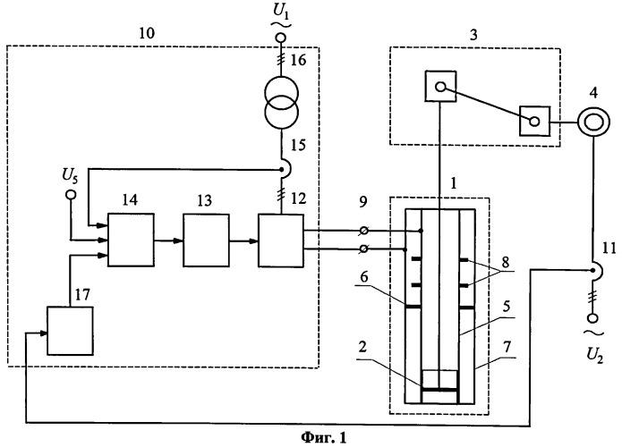 Способ электронагрева нефтескважины нефтедобывающего комплекса и устройство для его реализации