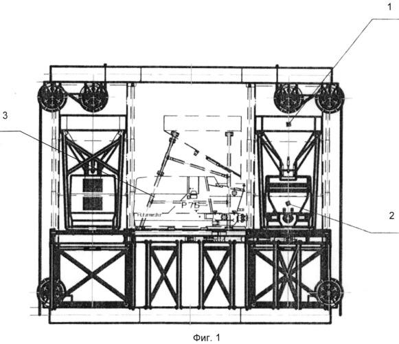 Способ укладки бетона за тюбинговую обделку вертикальной выработки и комплекс оборудования для осуществления способа