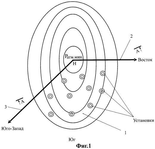 Способ преобразования термического циклона во фронтальный и устройство для его реализации