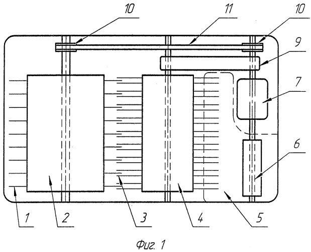 Механическое пуховычесывающее устройство