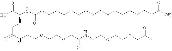 Аналоги инсулина с ацильной и алкиленгликолевой группировкой