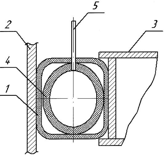 Уплотняющий затвор мягкого типа для понтонов резервуаров