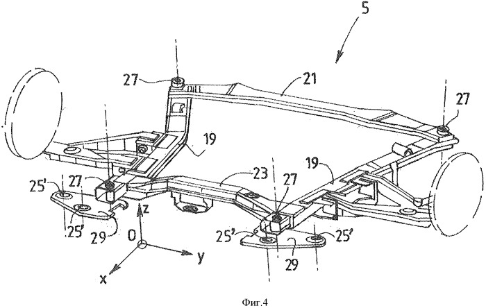 Устройство крепления опорной подушки двигателя к основанию транспортного средства, применение этого устройства крепления и транспортное средство, снабженое таким устройством
