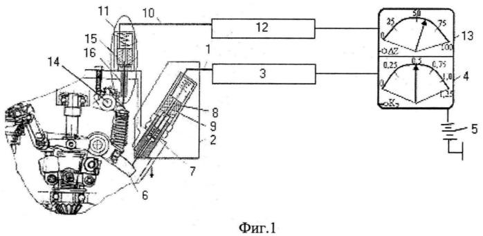 Устройство контроля полноты загрузки дизельного двигателя