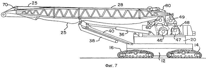 Самоходный подъемный кран и способ его разборки, транспортирования и наладки