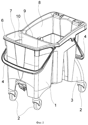 Штабелируемое ведро для мытья