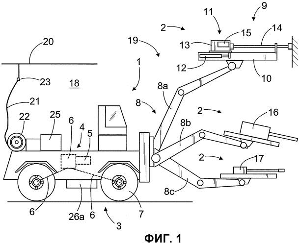 Горнодобывающее транспортное средство и способ его энергоснабжения