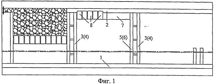 Способ слоевой разработки мощного крутонаклонного угольного пласта с выпуском угля межслоевой пачки