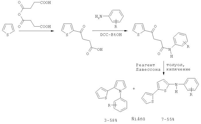 Способ получения 2-(2-тиенил)пиррола