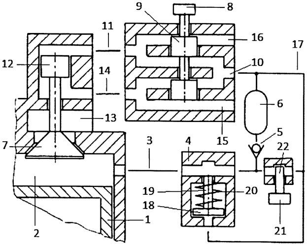 Способ продувки пневмоаккумулятора и клапана-отсечки пневматического привода газораспределительного клапана и топливной форсунки двигателя внутреннего сгорания