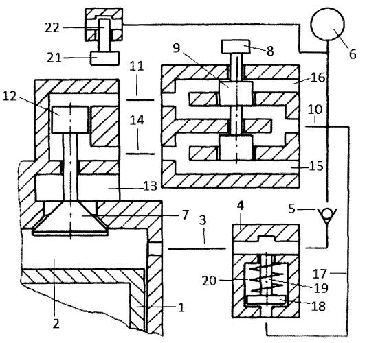 Способ обратной продувки пневмоаккумулятора пневматического привода газораспределительного клапана и топливной форсунки с клапаном-отсечкой двигателя внутреннего сгорания