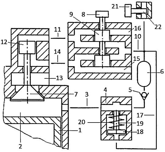 Способ сквозной продувки пневмоаккумулятора пневматического привода газораспределительного клапана и топливной форсунки с клапаном-отсечкой двигателя внутреннего сгорания