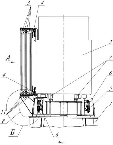 Система отделения космического аппарата