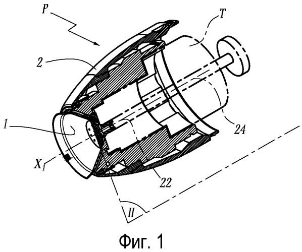 Пульверизатор и орган распыления материала покрытия и способ распыления с применением такого пульверизатора