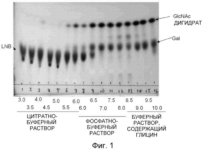 Способ обработки раствора, содержащего лакто-n-биозу