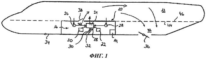 Способ и система аварийной вентиляции кабины воздушного судна в случае утечки в зоне смесителя воздуха