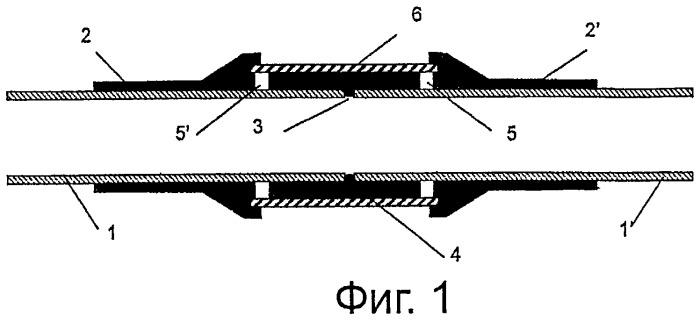 Способ контроля соединений металлических деталей с пластмассами на предмет наличия пустот с помощью ультразвука